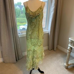 Light Green Dress with Sequins